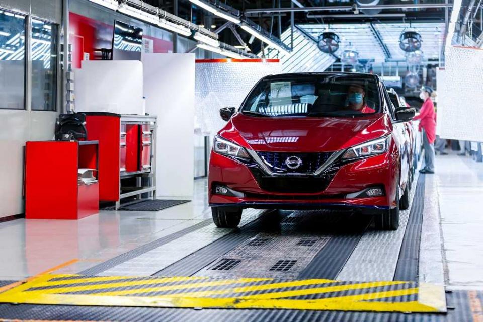 Półmilionowy Nissan LEAF - pojechał do Norwegii