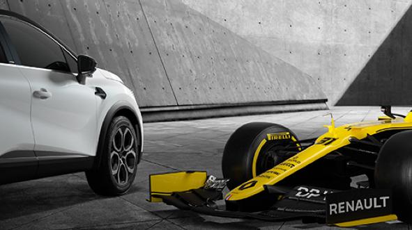 Z Formuły 1 na drogi