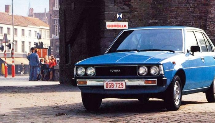 Pierwsza Toyota w Polsce