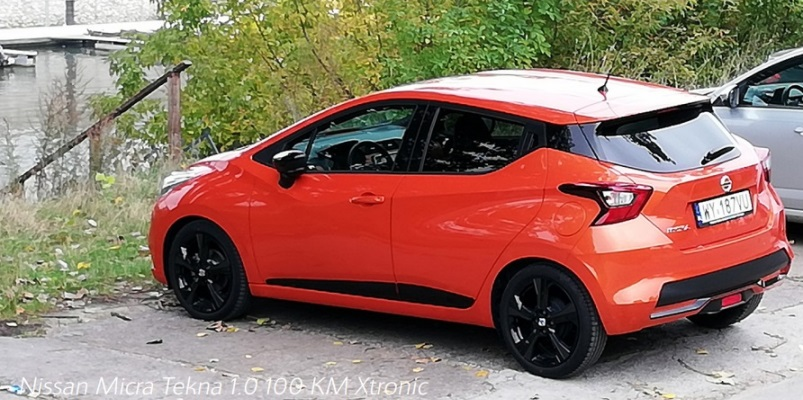Nissan Micra Tekna 1.0 100 KM Xtronic