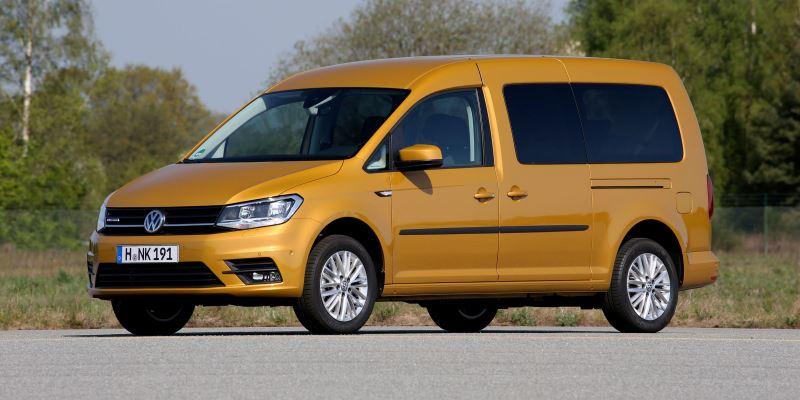 VW Caddy foto VW