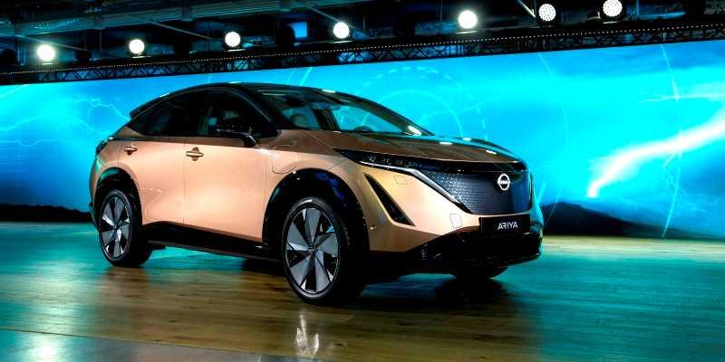 Nissan Ariya, nadwozie. Fot. Nissan