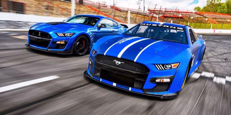 Nowy Mustang w NASCAR