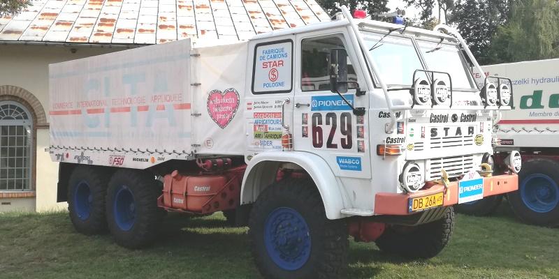 Star 266 Jerzego Mazura z rajdu Dakar w 1988 r. Zlot Legenda Stara w Starachowicach w rojku 2018. Fot. iAuto