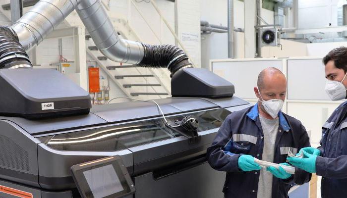VW wydrukuje samochody drukarkami 3D