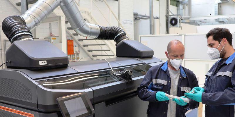VW 3D Printing. Foto: Volkswagen AG