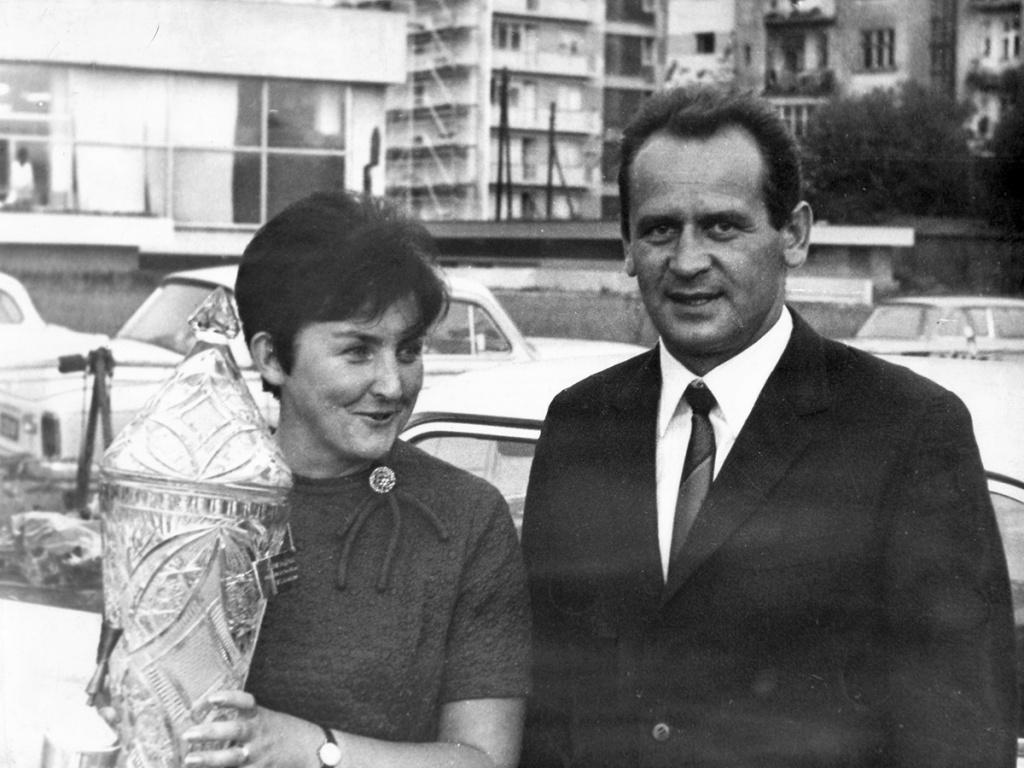 Ewa i Sobiesław Zasada - Rajd Polski1967